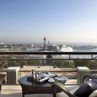 巴塞罗那美丽华酒店 - 巴塞罗那 - 阳台
