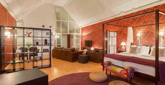 弗雷斯伦德酒店 - 乌普萨拉 - 睡房