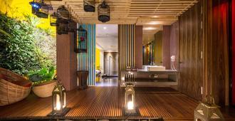 台中沐兰精品旅馆 - 台中 - 大厅