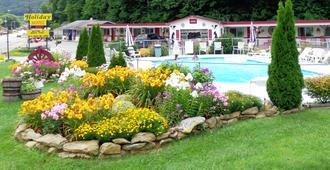 假日汽车旅馆-马吉谷 - Maggie Valley - 游泳池