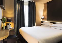 贝斯特韦斯特卡蒂耶拉丁帕特翁酒店 - 巴黎 - 睡房