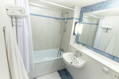 第戎中心钟楼酒店 - 第戎 - 浴室