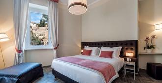 罗马弗洛豪华套房旅馆 - 罗马 - 睡房