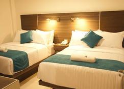 MS 酒店 - Cholula - 睡房