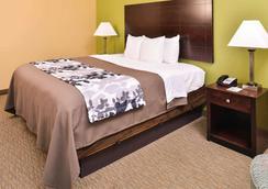 北市中心附近斯利普套房酒店 - 休斯顿 - 睡房