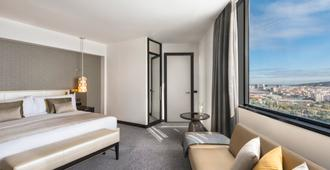 费尔蒙国王胡安卡洛斯一世酒店 - 巴塞罗那 - 睡房