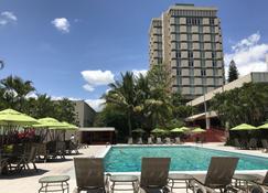 洪都拉斯马雅酒店 - 特古西加尔巴 - 游泳池