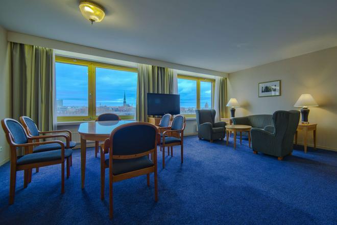 丽笙蓝光酒店-里加道格瓦 - 里加 - 客厅