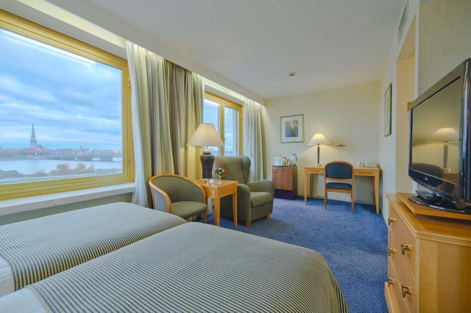 丽笙蓝光酒店-里加道格瓦 - 里加 - 睡房