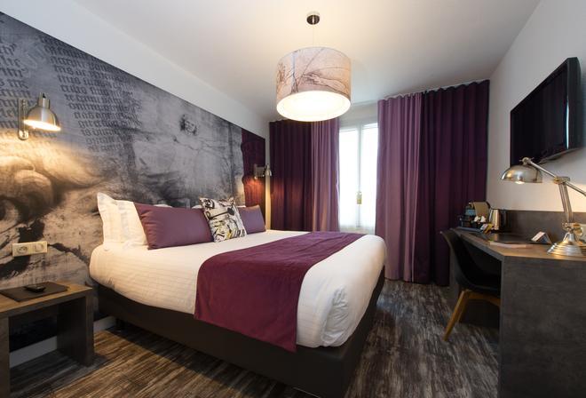 芬奇卢瓦尔河谷西佳酒店 - 阿姆博斯 - 睡房