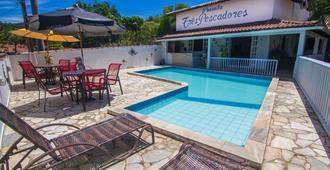 三个渔夫旅馆 - 布希奥斯 - 游泳池
