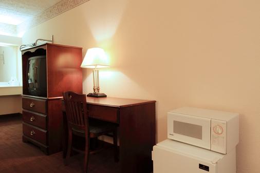 美洲最佳价值首都北部酒店 - 罗利 - 客房设施