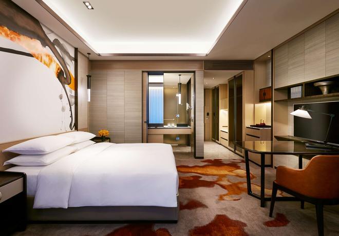 无锡苏宁凯悦酒店 - 无锡 - 睡房