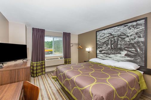 查塔努-瞭望山加速8酒店 - 查塔努加 - 睡房