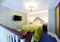 斯坦霍普酒店 - 布鲁塞尔 - 睡房