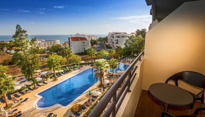 奥拉戈阿维拉嘉乐塞罗酒店 - 阿尔布费拉 - 阳台