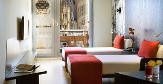 罗塞利翁艾尔酒店 - 巴塞罗那 - 睡房