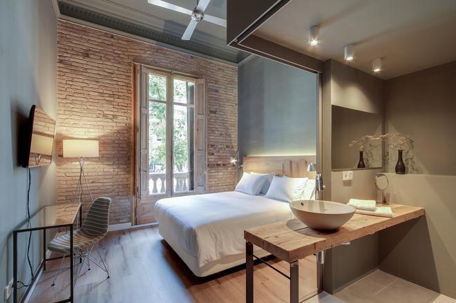 普林西帕尔民宿 - 巴塞罗那 - 睡房