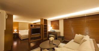 京站二馆国际酒店式公寓 - 台北 - 客厅