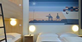 汉堡-阿尔托那B&B酒店 - 汉堡 - 睡房