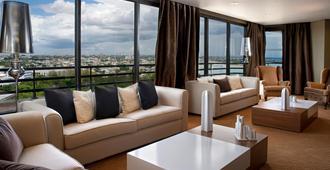 圣多明格皇冠假日酒店 - 圣多明各 - 客厅