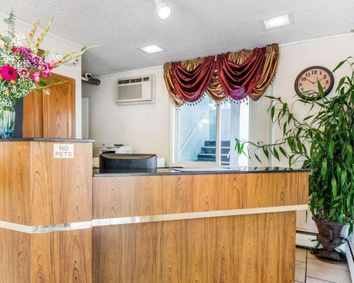 科罗拉多斯普林斯市中心艾科诺旅馆 - 科罗拉多斯普林斯 - 柜台