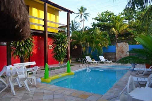 达人旅馆 - 嘎林海斯港 - 游泳池