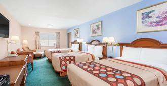 格林斯伯勒速8酒店 - 格林斯伯勒 - 睡房