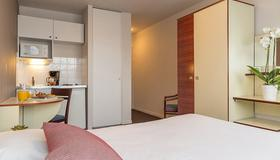 城市公寓罗切尔酒店 - 拉罗谢尔 - 睡房