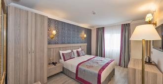 黛博酒店 - 伊斯坦布尔 - 睡房