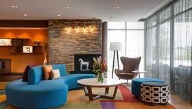 西达拉斯 i-30 费尔菲尔德套房酒店 - 达拉斯 - 大厅