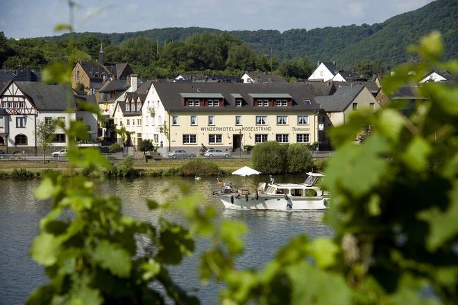 摩泽尔河畔酒庄和餐厅酒店 - 科赫姆 - 建筑