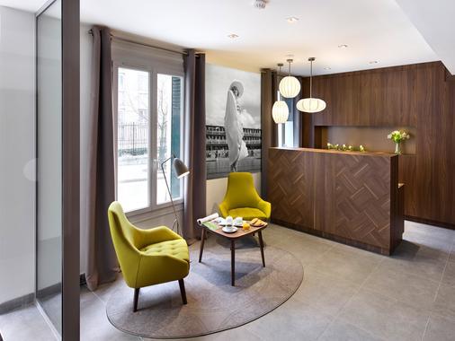 巴黎民族61贝斯特韦斯特酒店 - 巴黎 - 柜台