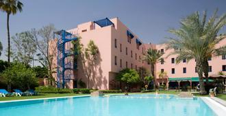 宜必思马拉喀什中心站酒店 - 马拉喀什 - 酒吧