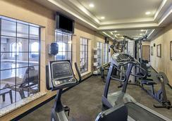 康福特茵旅馆-近海洋世界-拉克兰空军基地 - 圣安东尼奥 - 健身房