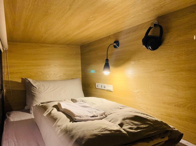 窝旅馆 - 台北 - 睡房