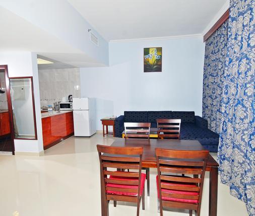 拉米玫瑰公寓酒店 - 阿布扎比 - 餐厅