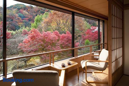 京都岚山酒店 - 京都 - 阳台
