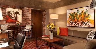 伯爵夫人河滨豪华套房酒店 - 圣安东尼奥 - 客厅