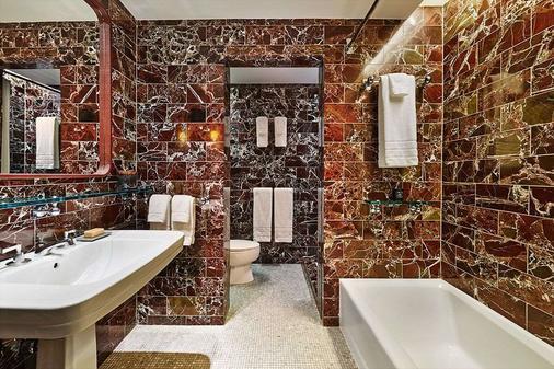 六十苏豪酒店 - 纽约 - 浴室