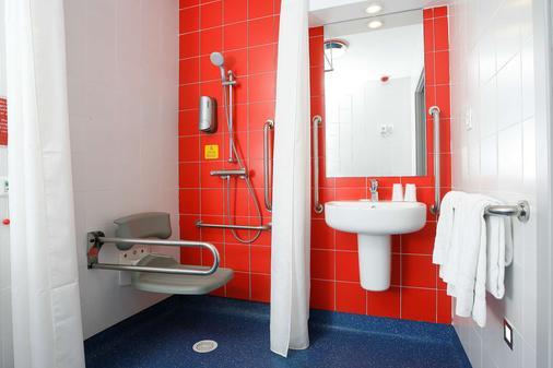 马德里阿尔卡拉旅程住宿酒店 - 马德里 - 浴室