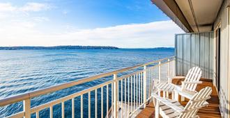 西雅图艾治沃特酒店 - 西雅图 - 阳台
