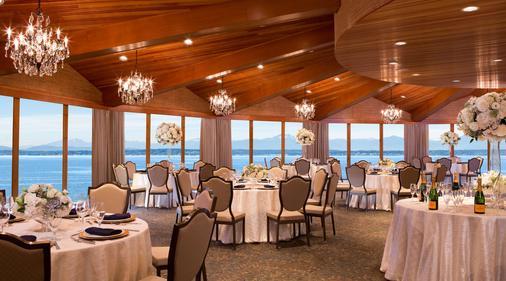 西雅图艾治沃特酒店 - 西雅图 - 宴会厅