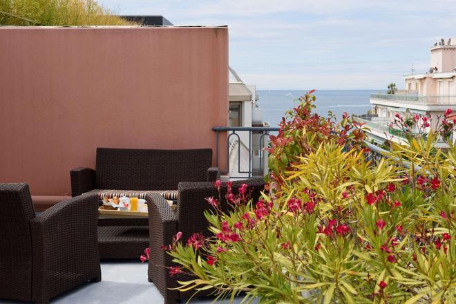 最佳西方阿斯托里亚酒店 - 安提伯 - 阳台