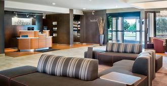 达拉斯阿灵顿/娱乐区庭院酒店 - 阿林顿 - 大厅