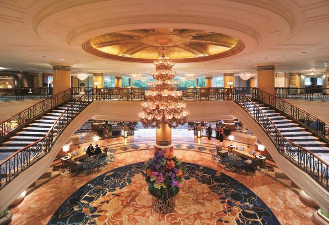 麦卡蒂香格里拉大马尼拉酒店 - 马卡蒂 - 宴会厅