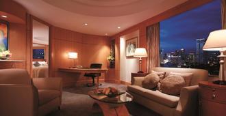 马尼拉麦卡蒂香格里拉酒店 - 马卡蒂 - 客厅