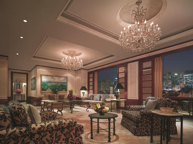 麦卡蒂香格里拉大马尼拉酒店 - 马卡蒂 - 休息厅