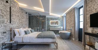 乐德尔特尔多层奢华套房酒店 - 尼斯 - 睡房