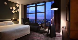 西贡中心铂尔曼酒店 - 胡志明市 - 睡房